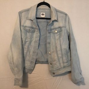 Old navy light blue denim jacket